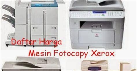 Mesin Fotocopy Xerox daftar harga mesin fotocopy xerox baru dahlan epsoner