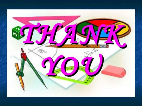 Thank You Letter Using Mathematical Terms Presentation Math Workshop May 25th New Help Our Teachers