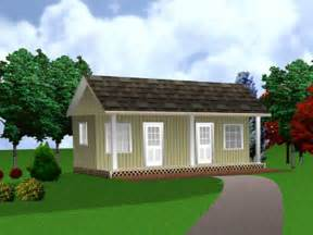 cottage house plans economical small bunkie carriage
