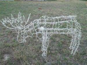 lighted moose yard decoration moose yard decoration nex tech classifieds