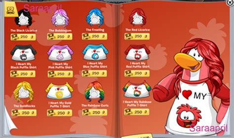 club penguin rainbow hair saraapril in club penguin club penguin style catalog