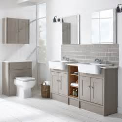 Bathroom Furnitur Burford Mocha Fitted Bathroom Furniture Roper