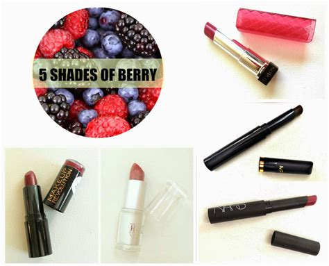 Raspberry Coloured L Shades by The Lipstick Drawer 5 Shades Of Berry Lipstick