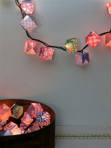 Origami Lantern Box - 25 best ideas about origami lantern on