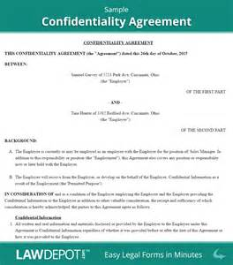 Free Prenuptial Agreement Template Canada by Confidentiality Agreement Free Confidentiality Contract