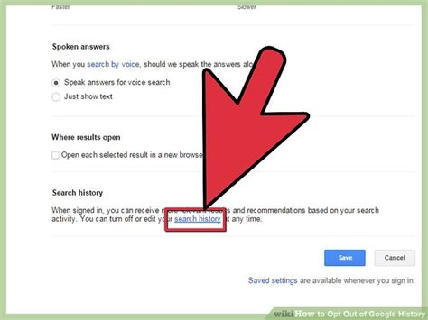 Search Opt Out 4 Ways To Opt Out Of History Wikihow