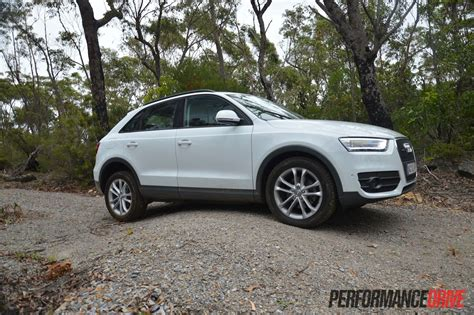 Audi Clearance by 2013 Audi Q3 2 0tfsi Quattro Ground Clearance