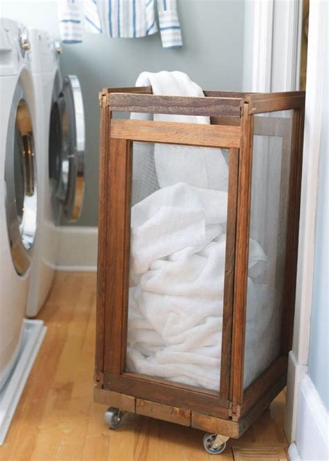 Reclaimed Armchair Sort Your Laundry In Style With These Attractive Laundry