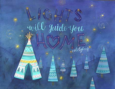 lights will guide you home becca cahan
