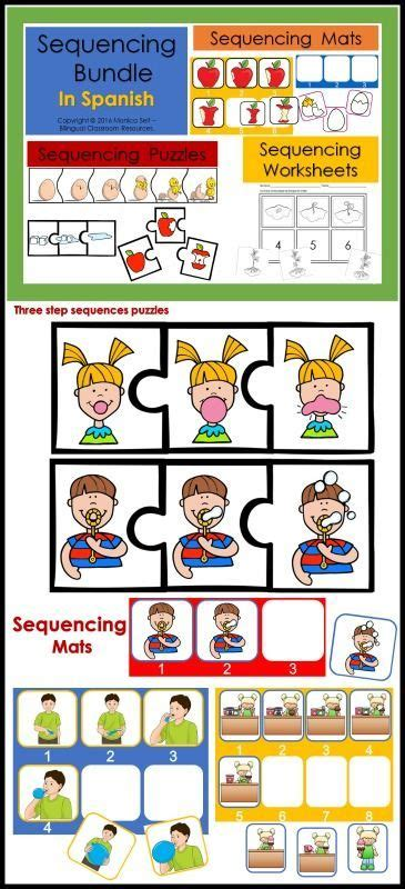 kids spanish first steps 1847110509 best 25 sequencing worksheets ideas on sequencing activities story sequencing and