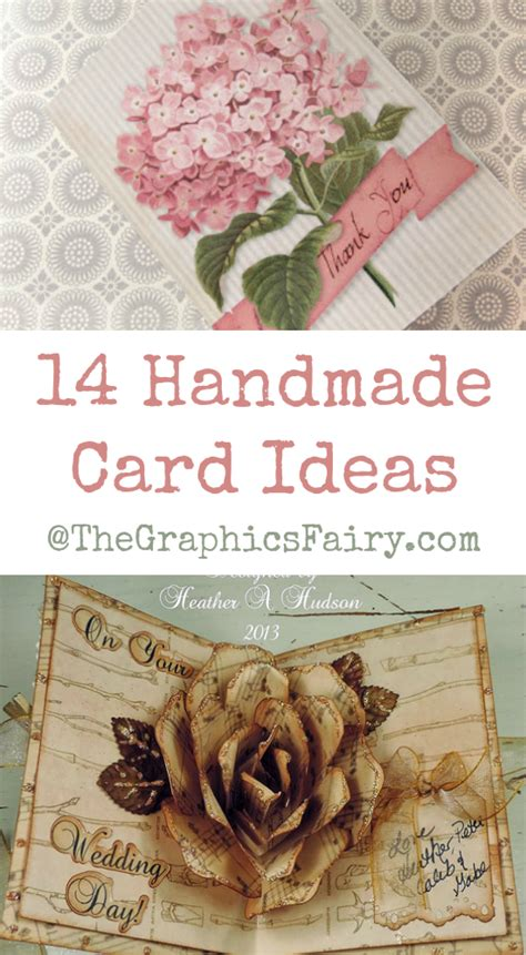 Handmade Tips - 14 handmade card ideas the graphics