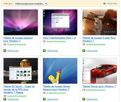 themes for windows 7 softonic comment changer le th 232 me de windows 7