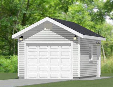 12x20 1 Car Garage 12x20g1a 240 Sq Ft Excellent Floor Plans | garage plans full list excellent floor plans