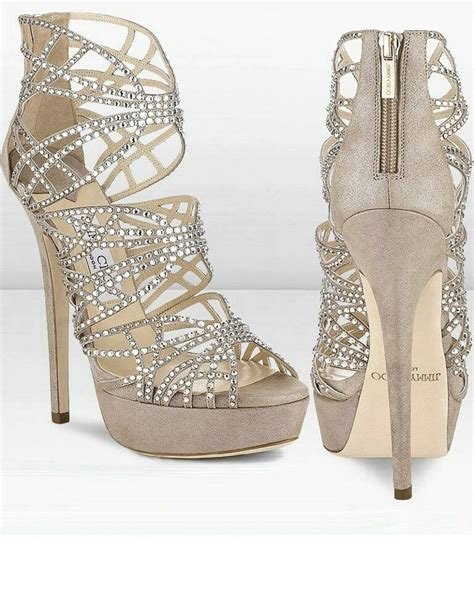 Heels Lj 05 Silver 7 silver sparkly heels fancy shmancy shoes