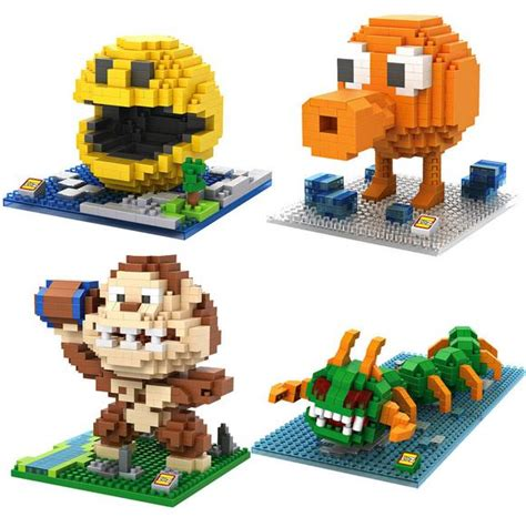 Loz Lego Nano Block Large Minecraft Zomb Kode Tr5586 1 aliexpress buy 4pcs lot classic pac octopus pixels nano bricks building blocks