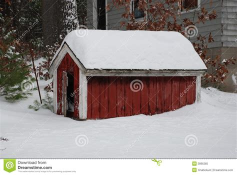 winter dog houses winter dog house royalty free stock photo image 3895285