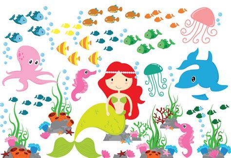 mermaid wall stickers mermaid wall sticker wall sticker the sea