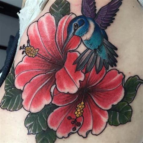 hibiscus hummingbird tattoo designs 75 best hibiscus flower meaning designs of