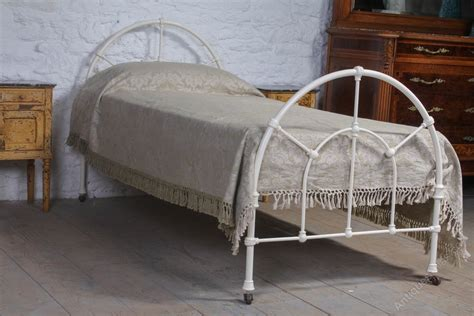 white iron beds simple single white iron bed antiques atlas
