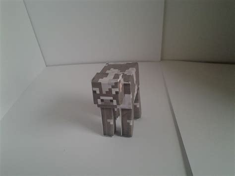 Minecraft Papercraft Cow - minecraft cow cutout gaming now