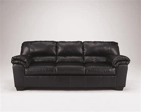 signature design by commando leather sofa furniture commando black sofa price reduced