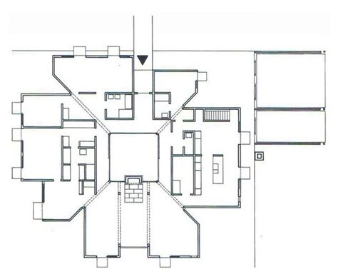 louis kahn floor plans the plan is a society of rooms goldenberg house by louis