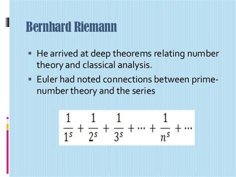 bernhard riemann number theory arithmetization of analysis