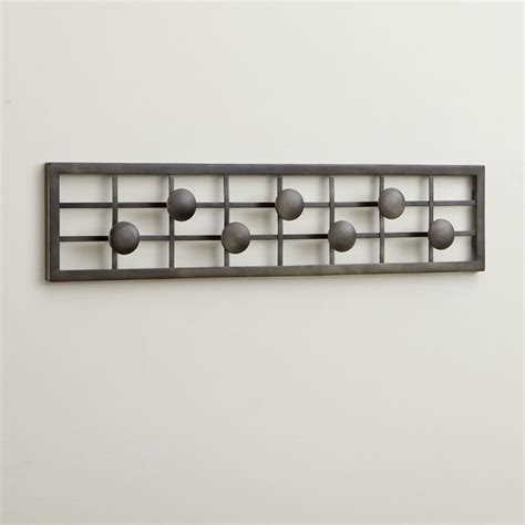 15 modern wall hooks and contemporary coat racks part 6 grid wall mounted coat rack contemporary coatracks and