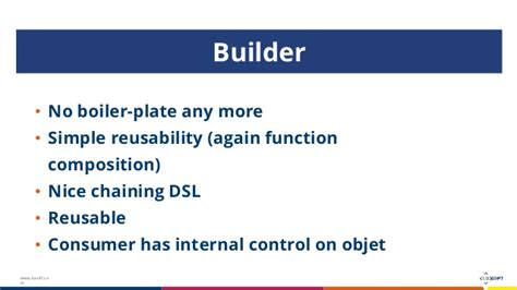 builder pattern in java 8 александр пашинский quot reinventing design patterns with java 8 quot