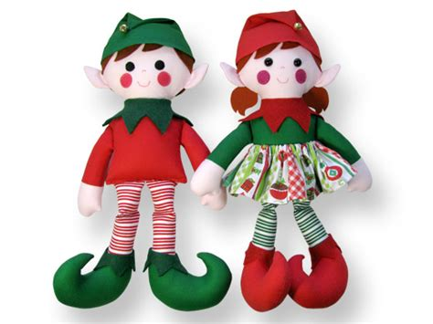pattern for christmas elf 12 fun holiday patterns to make doll sewing patterns
