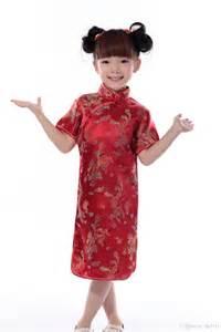 Dress cheongsam for kids chinese dresses girl girl dresses online with