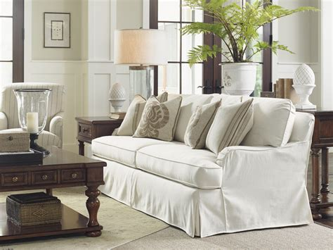 Coventry Hills Stowe Slipcover Sofa Cream Lexington Slipcover Sofa Furniture