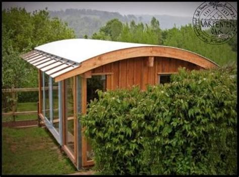 curved roof cabin pin by cristina gilardelli on in the garden