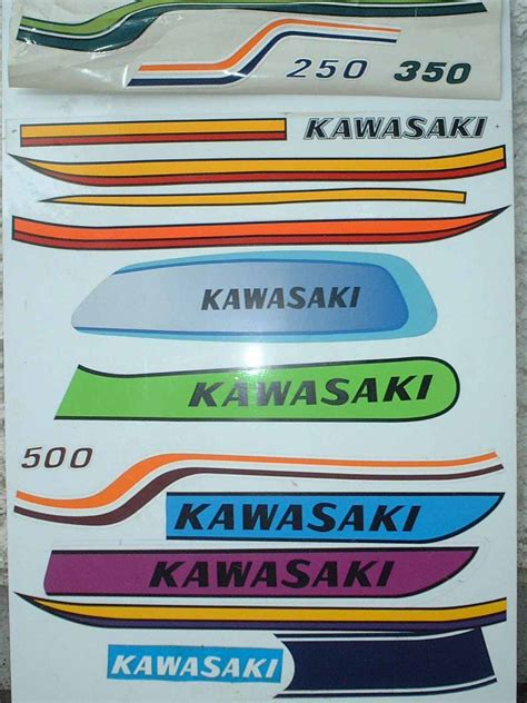 Kawasaki Vin Sticker by Paintwork