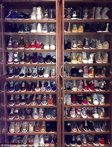 mayweather shoe collection mayweather car collection goes viral
