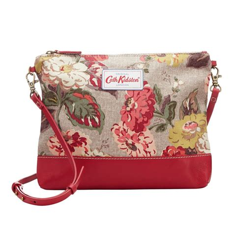 Cath Kidson 159 Small 3 Seleting cath kidston small crossbody canvas leather bag