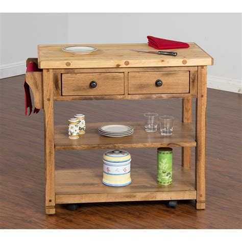 kitchen island cart butcher block sedona butcher block kitchen island cart