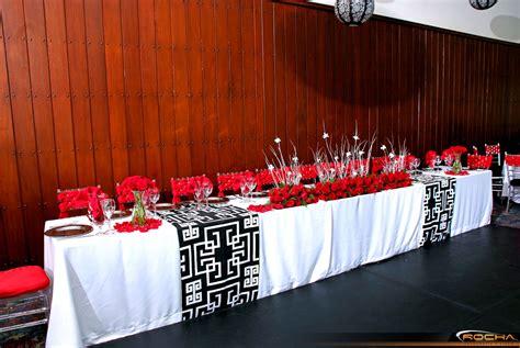 imagenes bodas en blanco y rojo decoraci 243 n de bodas decoraci 243 n en color rojo bodas en