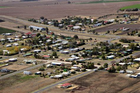 small country towns panoramio photo of small country town nobby queensland