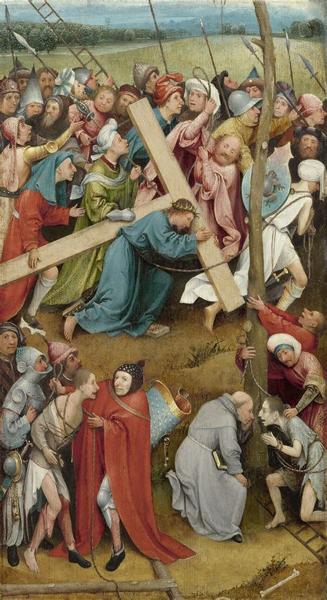 libro hieronymus bosch painter and christ carrying the cross bosch vienna wikipedia