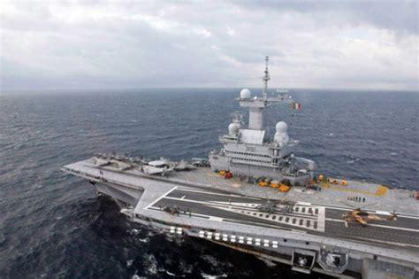portaerei francesi la francia impiegher 224 la sua pi 249 grande nave da guerra