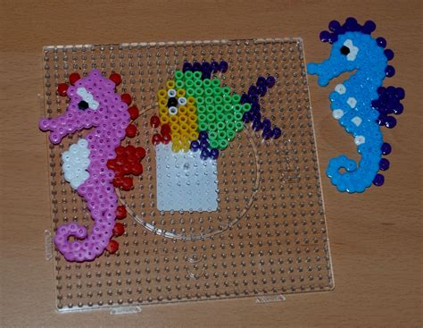 hama fish some 3d hama bead pictures ofamily learning