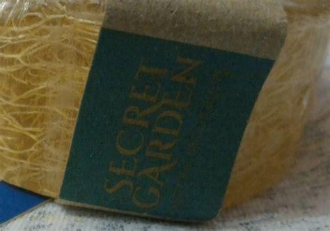 secret garden gourmet exfoliating loofah soap yukcoba in