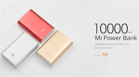Power Bank Xiaomi Malaysia xiaomi malaysia to begin selling 10000mah mi power bank priced at rm59 lowyat net