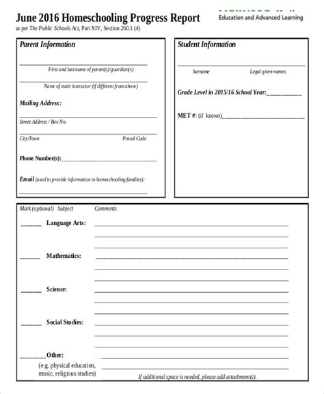 templates for nc school report cards report card template 33 free word excel documents