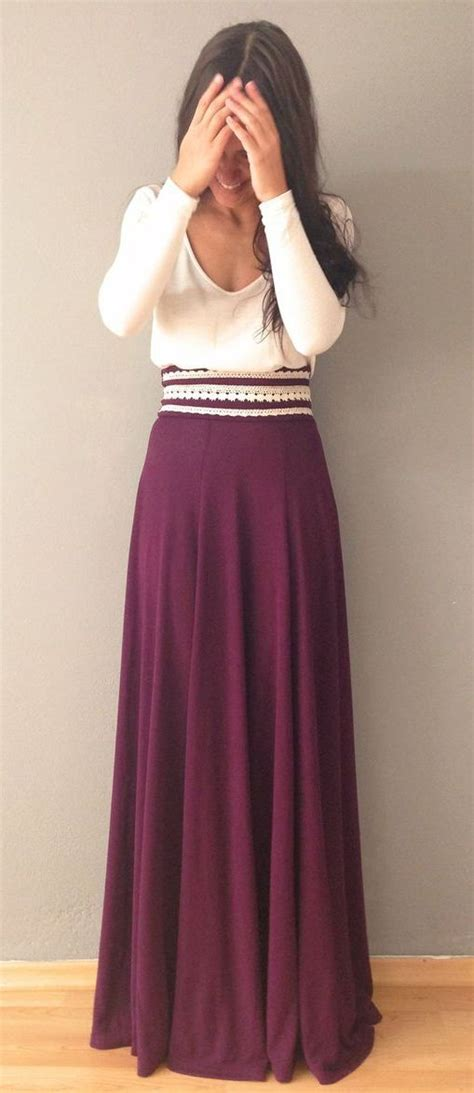 10 maxi skirt ideas for