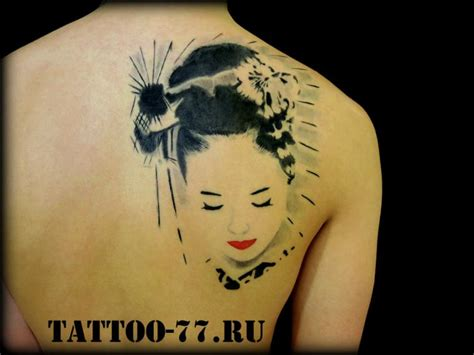 tattoo geisha schiena tatuaggio giapponesi schiena geisha di tattoo 77
