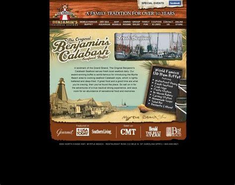 The Sign Picture Of The Original Benjamin S Calabash Original Benjamins Buffet Price