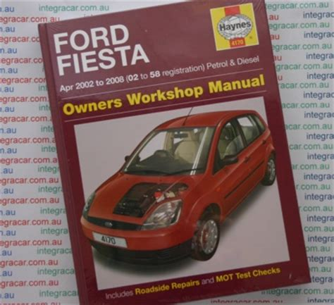 car owners manuals free downloads 2001 ford fiesta security system ford fiesta haynes manual download pdf