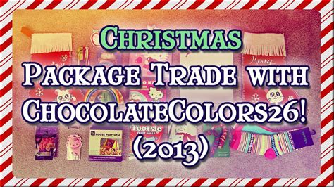 chocolate colors 26 package trade with chocolatecolors26 2013